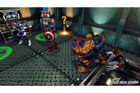 Marvel: Ultimate Alliance Screenshots, Pictures ...