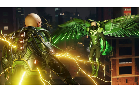 Spider-Man PS4: Vulture and Electro Boss Fight - YouTube