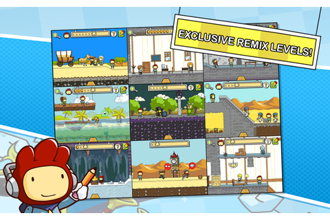 Scribblenauts Remix - Android Apps on Google Play