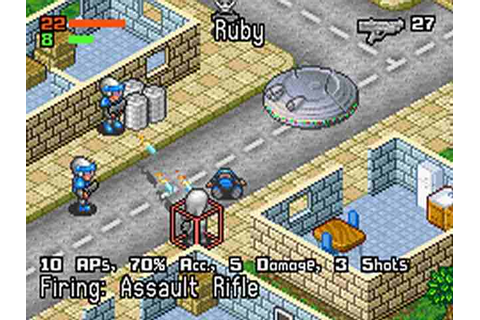 All Rebelstar: Tactical Command Screenshots for Gameboy ...