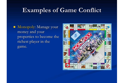 Conflict In Games