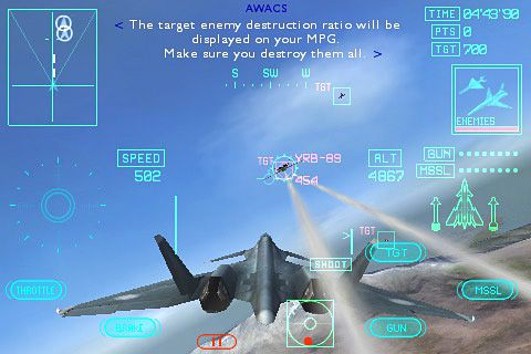 Ace combat Xi: Skies of incursion iPhone game - free ...