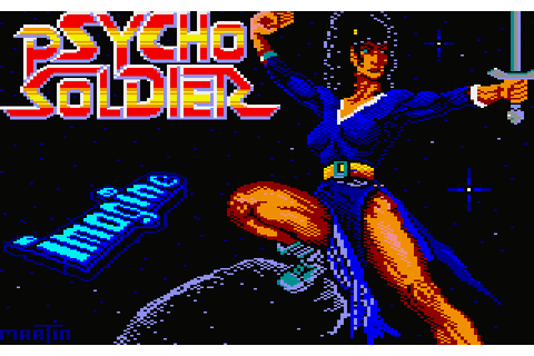 Psycho Soldier (1988) by Imagine Amstrad CPC game