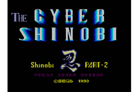 The Cyber Shinobi Review for Master System (1990 ...