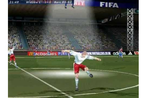 FIFA 2000 Gameplay - Alien Mode - YouTube