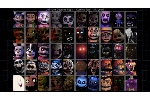 Ultimate Custom Night- Fangame Edition (Version 1 ...