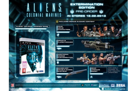 CollectorsEdition.org » Aliens: Colonial Marines ...