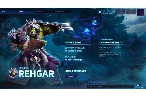 Heroes of the Storm: Blizzard - UI, Interface Art, Game UI ...