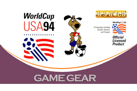 World Cup USA '94 [Game Gear] - YouTube