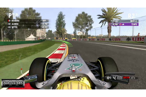 F1 2011 Video Game Gameplay (PC HD) - YouTube