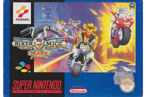 Biker Mice from Mars for SNES (1994) - MobyGames