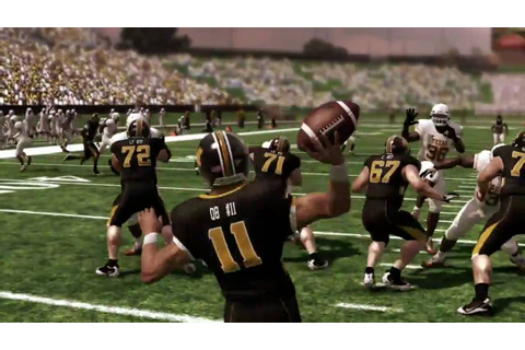 NCAA Football 11 trailer (PS3/XBOX360/PS2) [HD] - YouTube