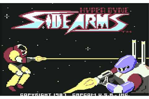 Download Side Arms Hyper Dyne - My Abandonware