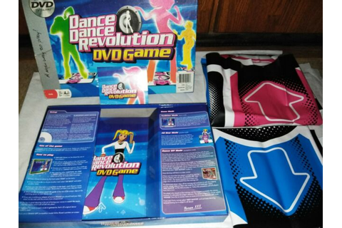 Dance Dance Revolution DVD Game in Package with Two Mats ...