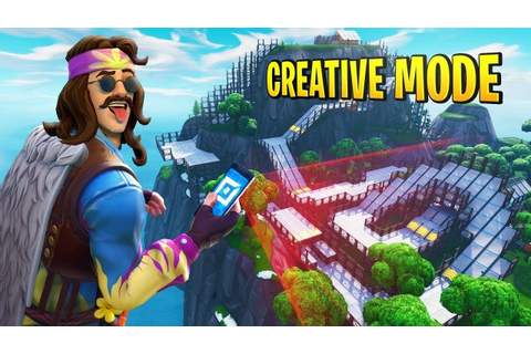 Fortnite Creative Mode Offically Announced, Design your ...