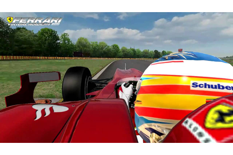 Ferrari Virtual Academy 2010 gameplay - YouTube
