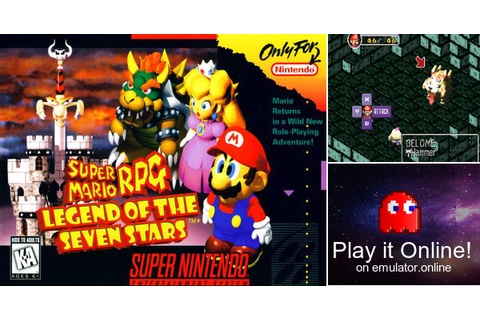 Play Super Mario RPG: Legend of the Seven Stars on Super ...