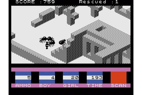 3D Ant Attack - ZX Spectrum (1983) | Retro video games ...