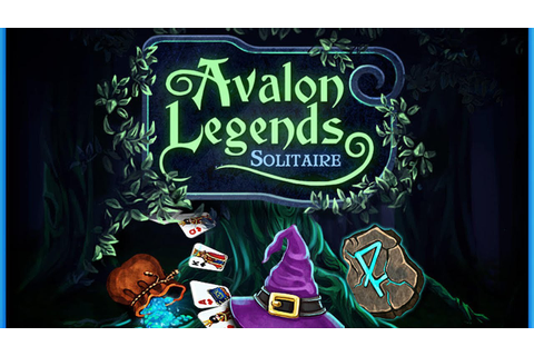 Avalon Legend Solitaire - Free 2 Play Card Game - YouTube