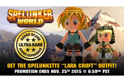 Spelunker World Out Now on PlayStation 4 - Niche Gamer