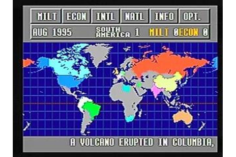Third World War Sega CD Game