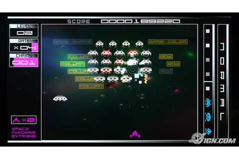 The Space Invaders Extreme XBLA Official Thread - NeoGAF