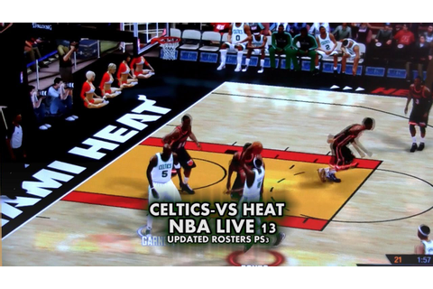 NBA LIVE 13 CELTICS-VS-HEAT PS3. - YouTube