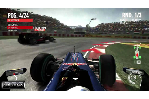 F1 2010 Videogame Gameplay (PC HD) - YouTube