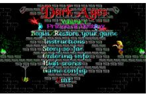 Dark Ages Download (1991 Role playing Game)