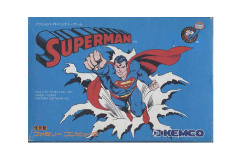 Superman - Nintendo Famicom game