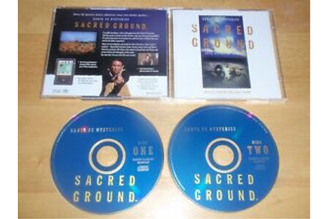 Santa Fe Mysteries Sacred Ground PC/Mac 2 CDROMs 1996 game ...