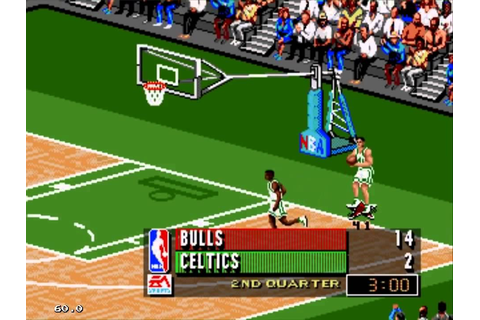 NBA Live 96 (Sega Genesis) with 2015 NBA Roster - YouTube