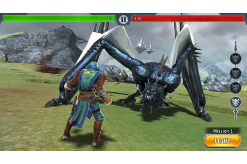 Glu Mobile Free Ios Android Game: Dragon Slayer Gameplay ...