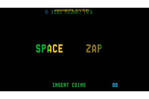 Space Zap 1980 Midway Mame Retro Arcade Games - YouTube