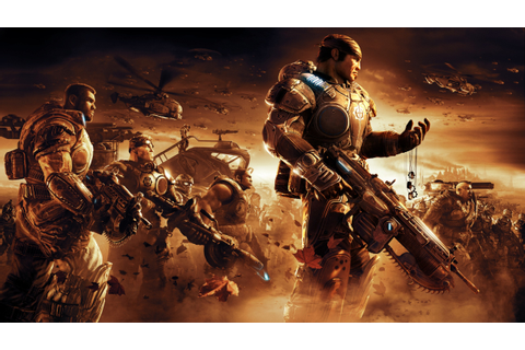 Gears Of War, Video Games, War, Apocalyptic, Gun ...