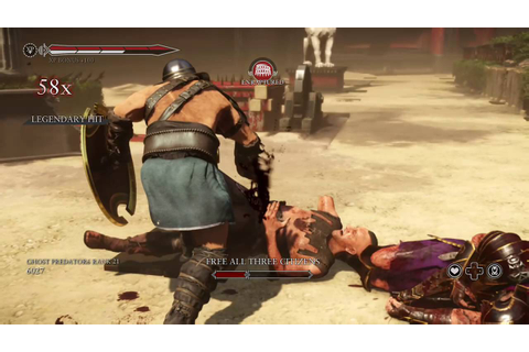 ryse son of rome gladiator fight xbox one/ps4/pc - YouTube