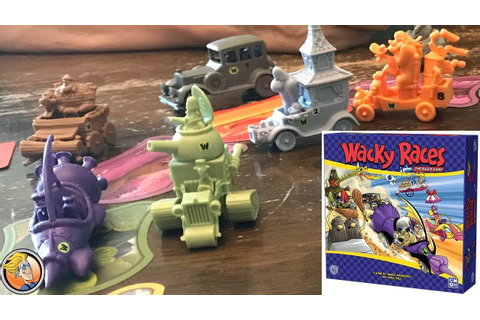 Wacky Races: The Board Game — Fun & Board Games with WEM ...