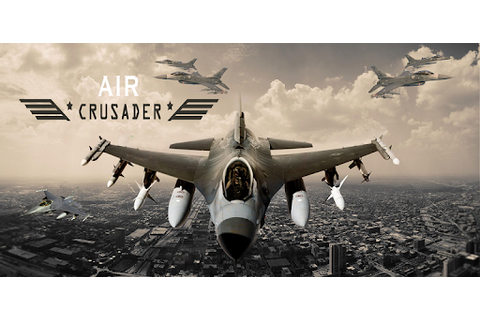 Free AirCrusader: Jet Fighter Game, Air Combat Command for ...