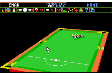 Download Archer Maclean's Pool sports for DOS (1992 ...