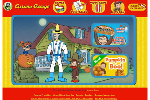 Mommy Maestra: Curious George: A Halloween Boo Fest!