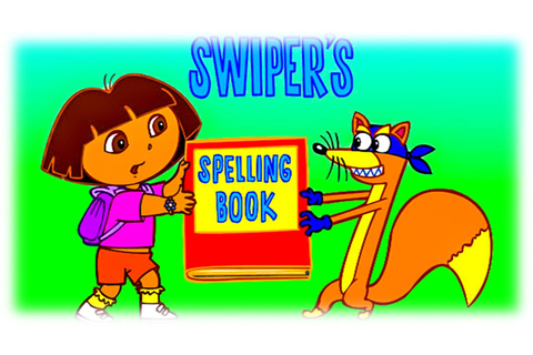 Learning English Words & Letters with Dora the explorer in ...
