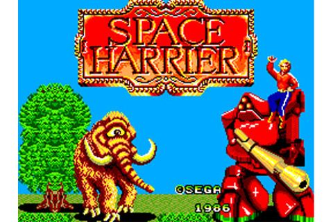 Space Harrier Review for Master System (1986) - Defunct Games