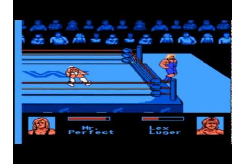 WWF King of the Ring (NES) Worst wrestling games of all ...