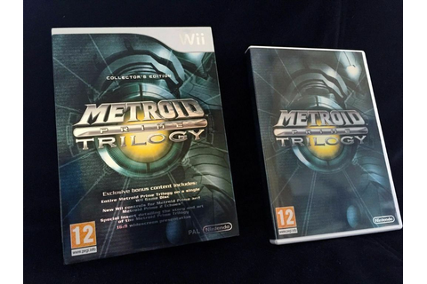 Metroid Prime Trilogy - Collector's Edition - Nintendo Wii ...