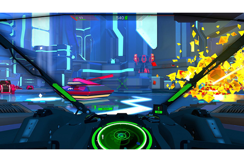PS4 VR Game Battlezone - Gamechanger