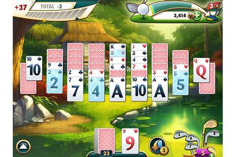 Fairway Solitaire™ > iPad, iPhone, Android, Mac & PC Game ...