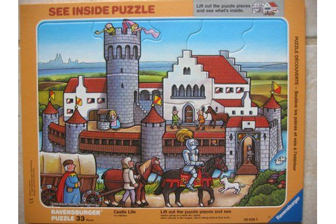 Amazon.com: Castle Life: Ravensburger See Inside Puzzle ...