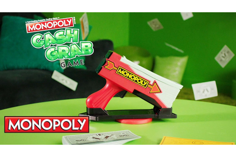 'Monopoly Cash Grab Game' Official Spot – Hasbro Gaming ...