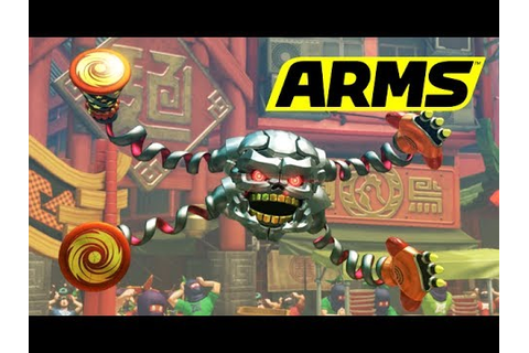 ARMS - Hedlok [Nintendo Switch] - YouTube
