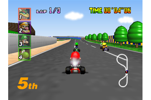 How to Begin a Race in Mario Kart 64: 5 Steps (with Pictures)